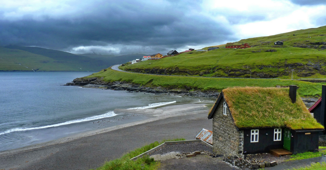 Isola di Siri Jacobsen immagine isole Faroe