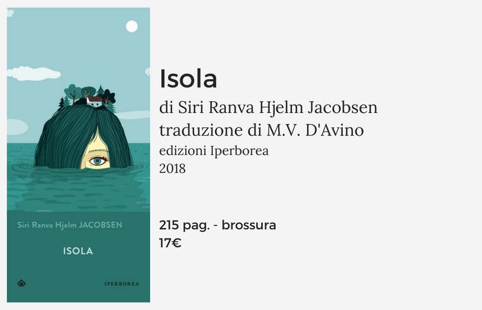 Isola Siri Jacobsen scheda libro