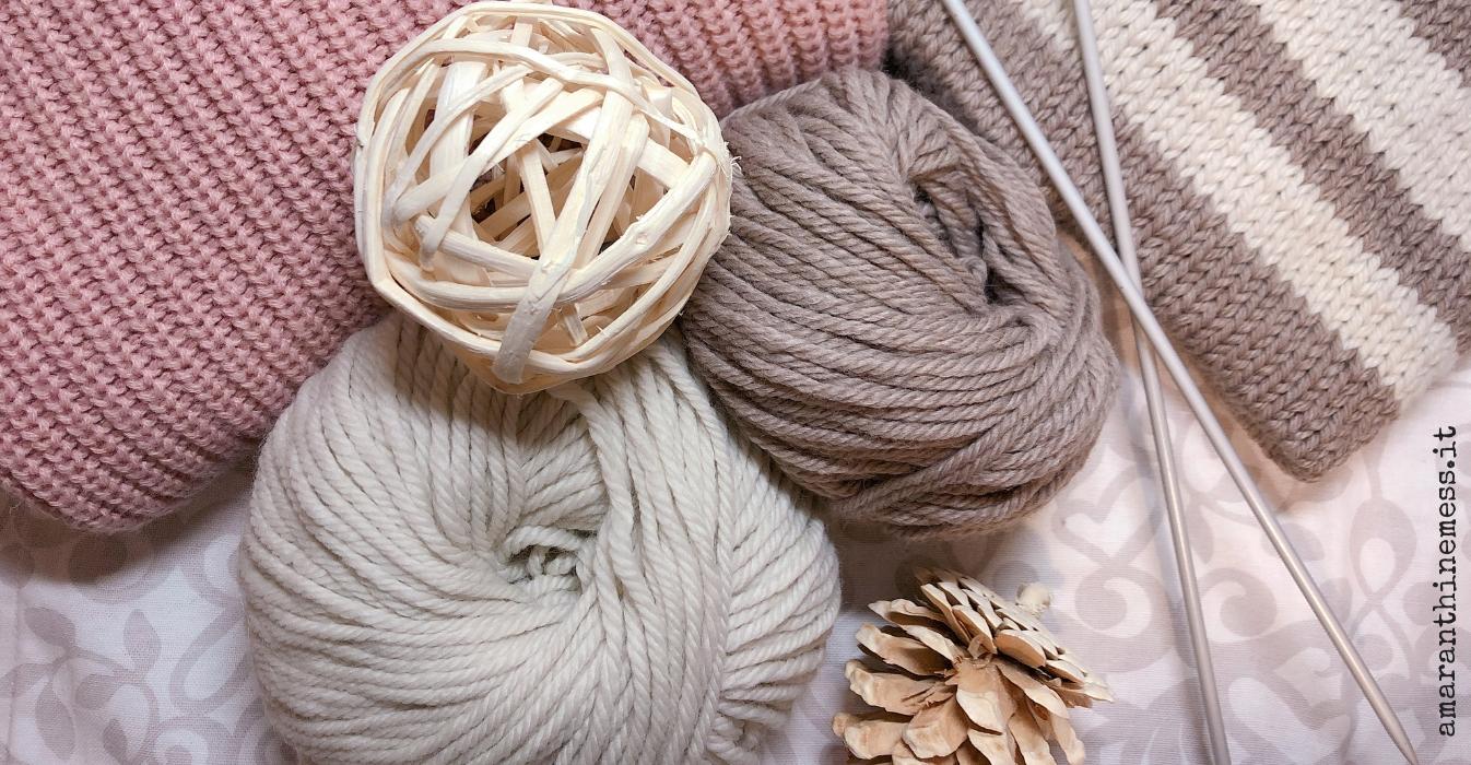 la mia hygge natalizia fare la maglia