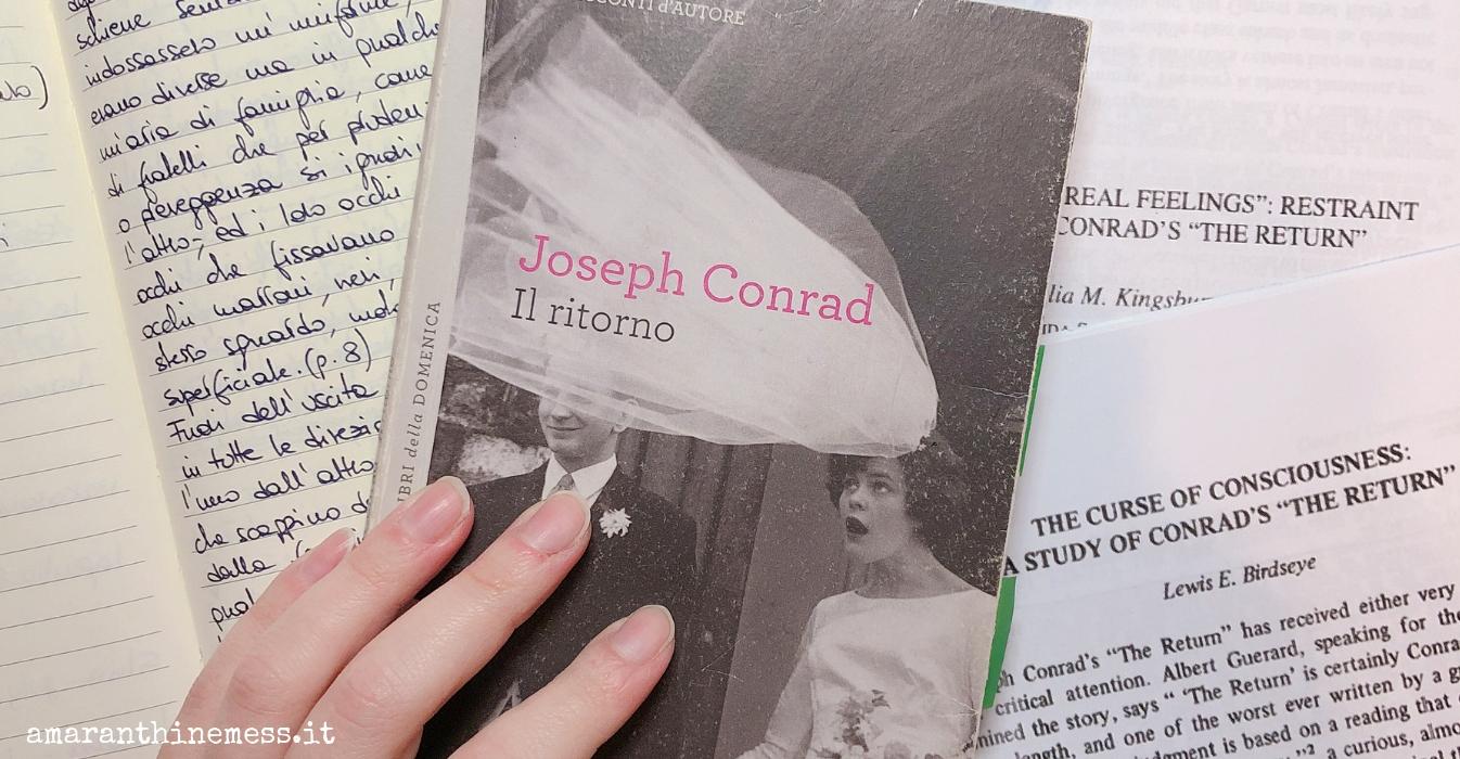 Il ritorno di Jospeh Conrad