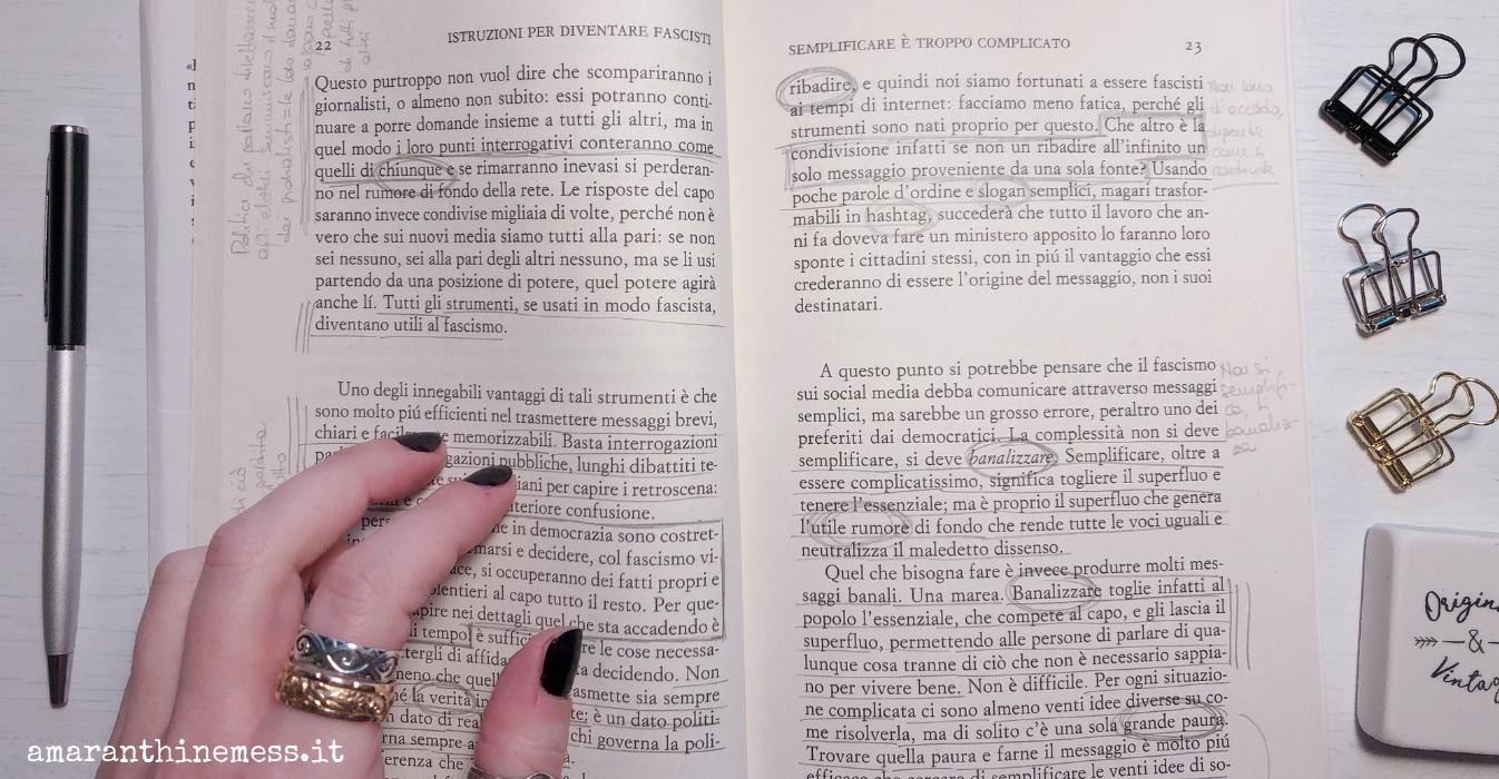 Istruzioni per diventare fascisti Michela Murgia
