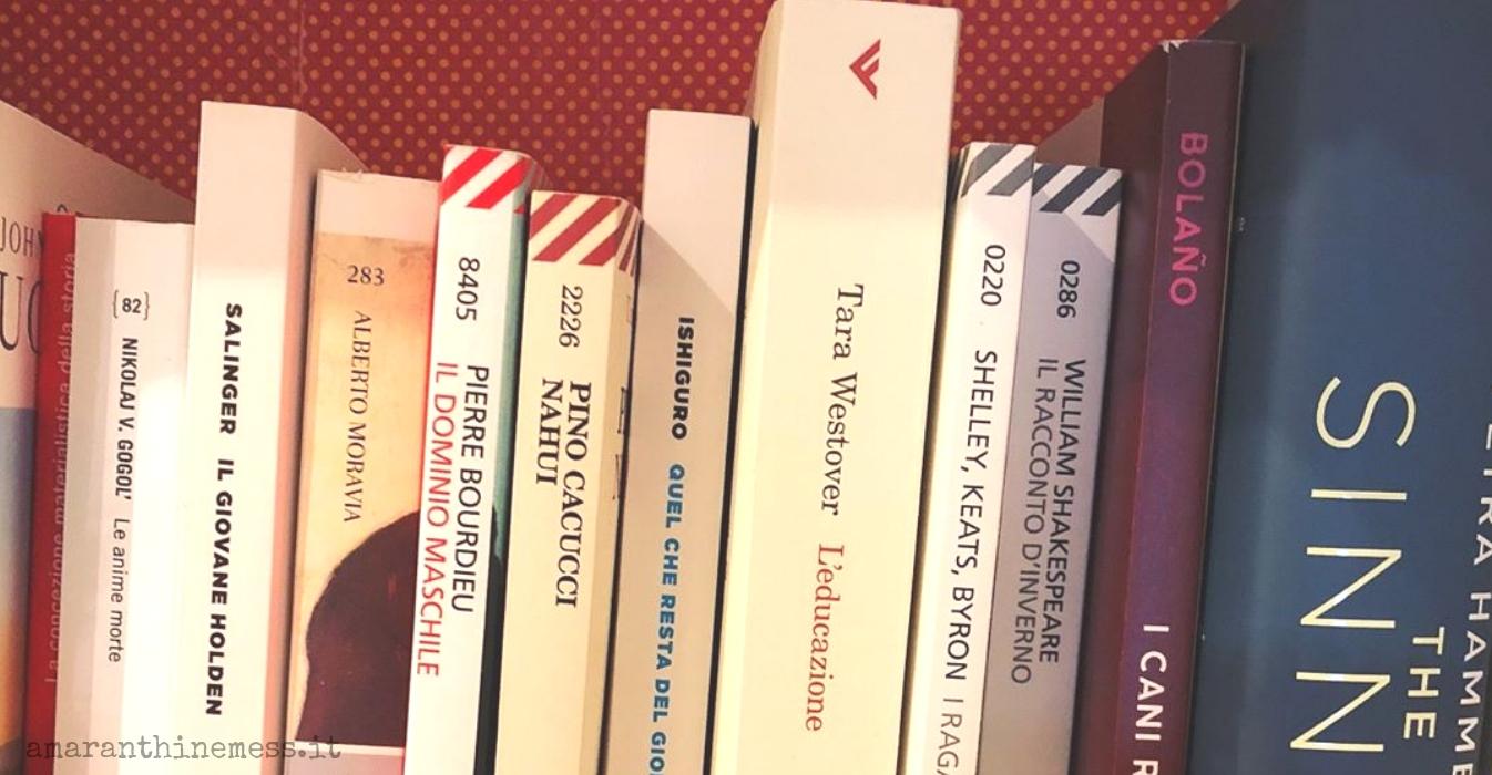 libri letti a gennaio