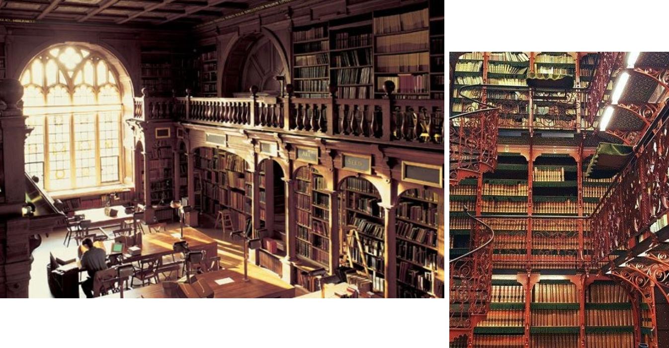 biblioteche più belle del mondo oxford l'aia