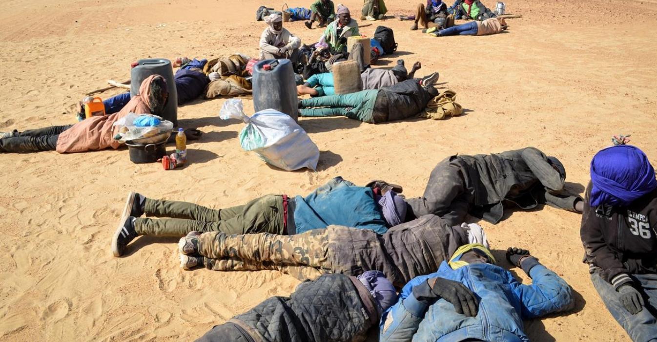 migranti deserto africa libia