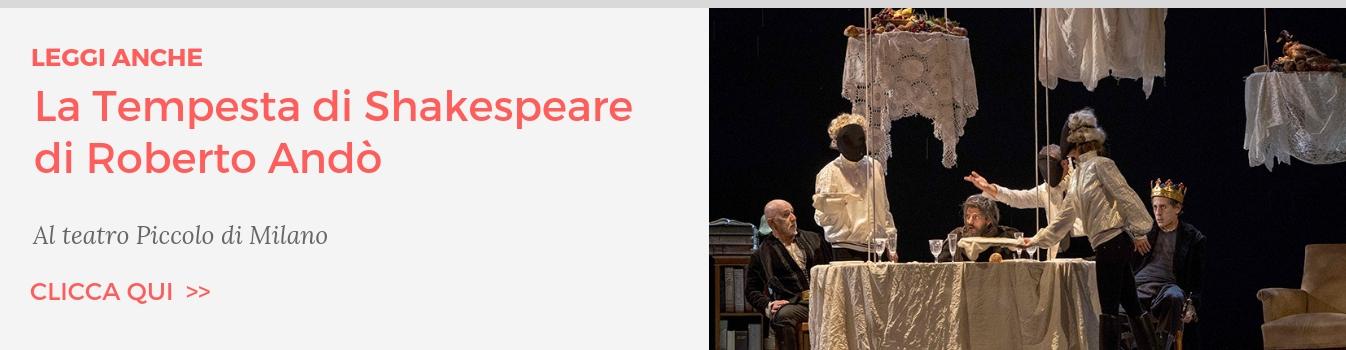 La Tempesta Shakespeare Andò Teatro Piccolo